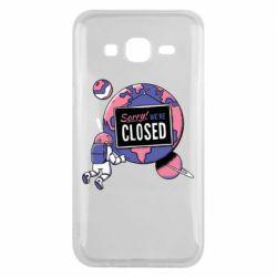 Чохол для Samsung J5 2015 Sorry we're closed