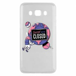 Чохол для Samsung J5 2016 Sorry we're closed