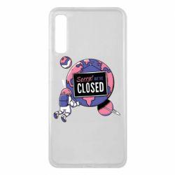 Чохол для Samsung A7 2018 Sorry we're closed