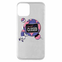 Чохол для iPhone 11 Sorry we're closed