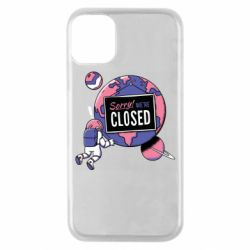 Чехол для iPhone 11 Pro Sorry we're closed