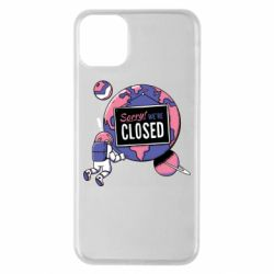 Чехол для iPhone 11 Pro Max Sorry we're closed