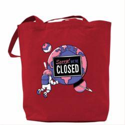 Сумка Sorry we're closed