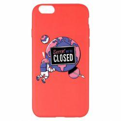 Чохол для iPhone 6 Plus/6S Plus Sorry we're closed