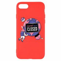 Чохол для iPhone 7 Sorry we're closed