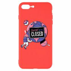Чохол для iPhone 7 Plus Sorry we're closed