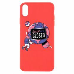 Чохол для iPhone X/Xs Sorry we're closed
