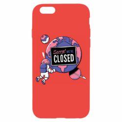 Чохол для iPhone 6 Sorry we're closed
