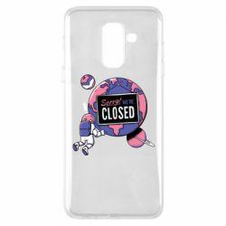 Чохол для Samsung A6+ 2018 Sorry we're closed