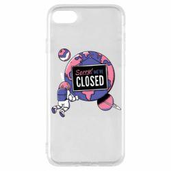 Чохол для iPhone 8 Sorry we're closed