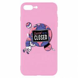 Чохол для iPhone 8 Plus Sorry we're closed
