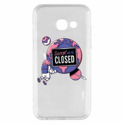 Чохол для Samsung A3 2017 Sorry we're closed