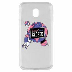 Чохол для Samsung J3 2017 Sorry we're closed