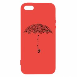 Чехол для iPhone5/5S/SE Sound Of Rain - FatLine