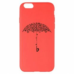 Чехол для iPhone 6 Plus/6S Plus Sound Of Rain - FatLine