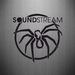 Наклейка SoundStream - FatLine