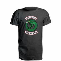 Удлиненная футболка South side serpents stripe