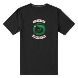 Мужская стрейчевая футболка South side serpents stripe