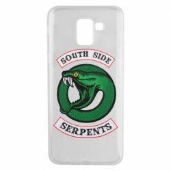 Чехол для Samsung J6 South side serpents stripe