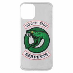Чехол для iPhone 11 South side serpents stripe