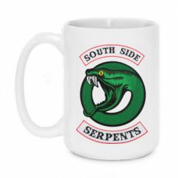 Кружка 420ml South side serpents stripe