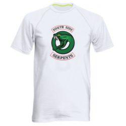 Мужская спортивная футболка South side serpents stripe