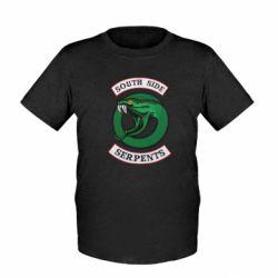 Детская футболка South side serpents stripe