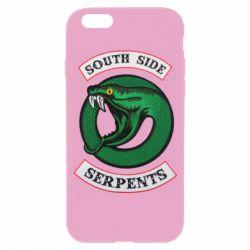 Чехол для iPhone 6/6S South side serpents stripe