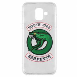 Чехол для Samsung A6 2018 South side serpents stripe