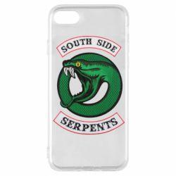 Чехол для iPhone 8 South side serpents stripe