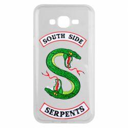 Чехол для Samsung J7 2015 South side serpents
