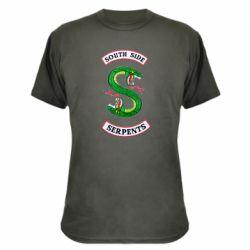 Камуфляжная футболка South side serpents