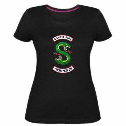 Женская стрейчевая футболка South side serpents
