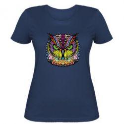 Женская футболка Сова Совентьевна