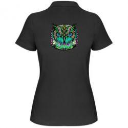 Женская футболка поло Сова Совентьевна