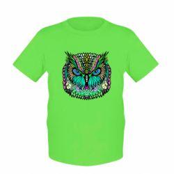 Детская футболка Сова Совентьевна