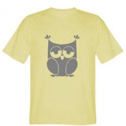 Мужская футболка Сова - FatLine