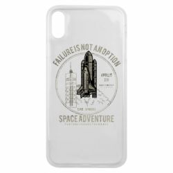 Чохол для iPhone Xs Max Space Adventure, failure is not an option