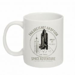 Кружка 320ml Space Adventure, failure is not an option