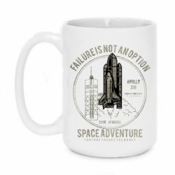 Кружка 420ml Space Adventure, failure is not an option