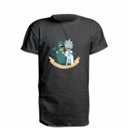Подовжена футболка Space alcoholics