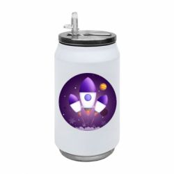 Термобанка 350ml Space and rocket