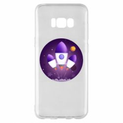 Чехол для Samsung S8+ Space and rocket