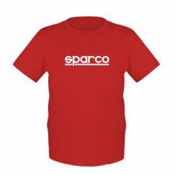 Дитяча футболка Sparco - FatLine