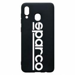 Чехол для Samsung A30 Sparco - FatLine