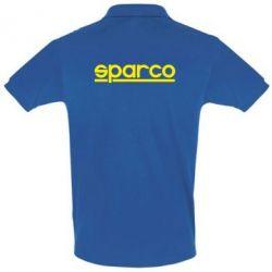 Мужская футболка поло Sparco