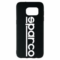 Чехол для Samsung S7 EDGE Sparco - FatLine