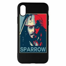 Чехол для iPhone X Sparrow - FatLine