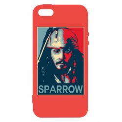 Чехол для iPhone5/5S/SE Sparrow - FatLine