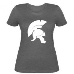 Женская футболка Spartan helmet